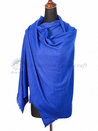Ocean Blue Cashmere Color shawl (MHCS10)