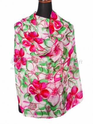 Floral Printed Cashmere Shawl (MHPS01)