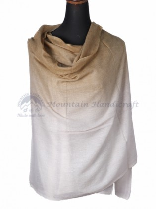Coffee Grey Double Shed Color Shawl (MHDC04)