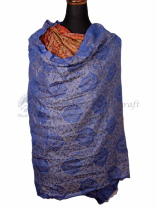 Blue Ring Designed Shawl (MHRDS10)