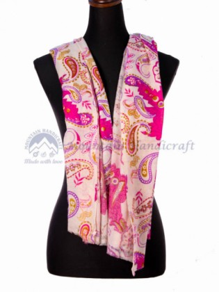 Exclusive Multi color Ring Printed Shawl (MHRPS20)