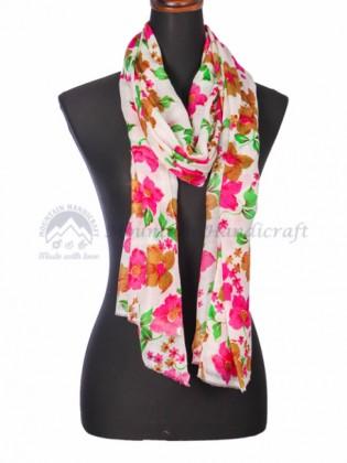 Multi Floral Printed Shawl (MHPS04)