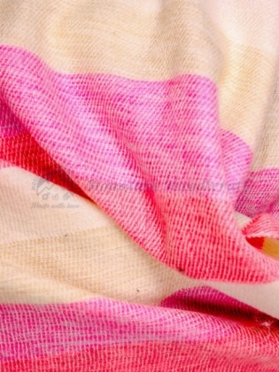Pink Yak Wool Blanket (MHYB05)