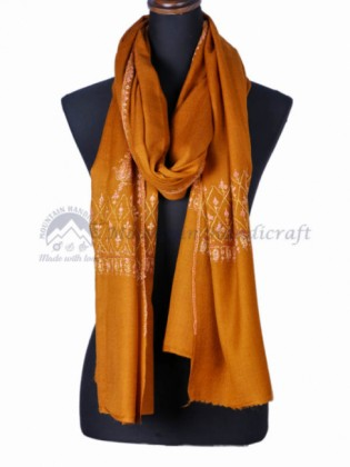 Amber Embroidered Shawl (MHES07)