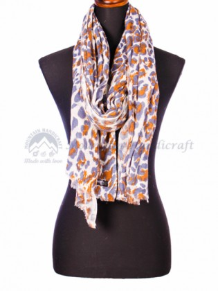 Multi Floral Printed Cashmere Shawl (MHPS09)