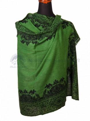 Green Cashmere Colorshawl (MHCS12)