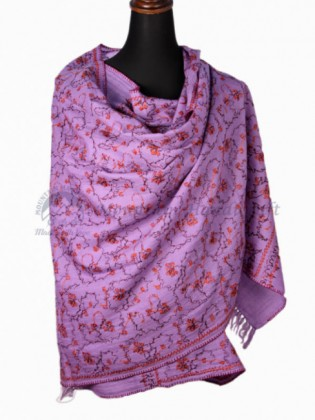 Hand Embroidered Cashmere Shawl (MHES03)