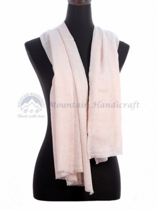 Rosy  Pink Ring Designed Shawl (MHRDS02)
